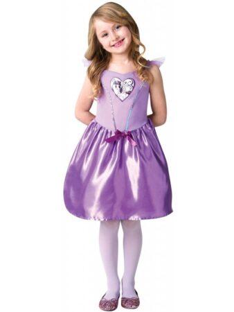 lille twilight kjole fastelavnskostume lilla my little pony børnekostume
