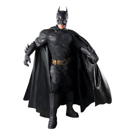 luksus batman kostume batman deluxe udklædning superhelt luksus kostume til voksne sort luksus kostume