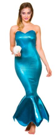 luksus havfrue kostume disney kostume til voksne havfrue kjole til kvinder