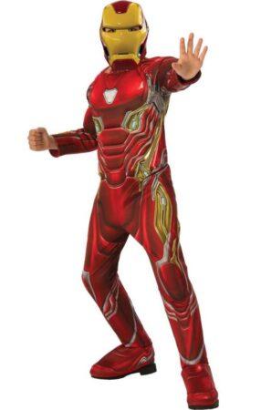 luksus iron man kostume til børn deluxe ironman børnekostume marvel avengers udklædning