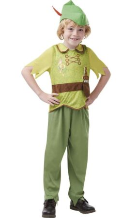 peter pan kostume julekostume til drenge neverland børnekostume ønskeøen kostume til børn