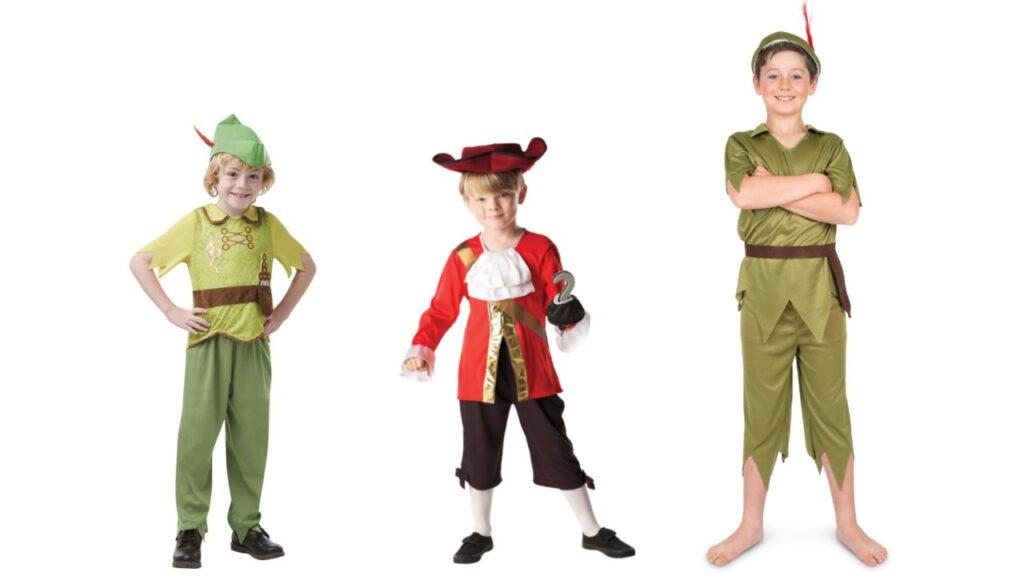 peter pan kostume til barn peter pan børnekostume peter pan udklædning til drenge