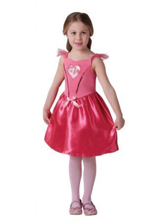 pinky pie kostume my little pony fastelavnskostume lyserød fastelavnskjole pinky pie udklædning