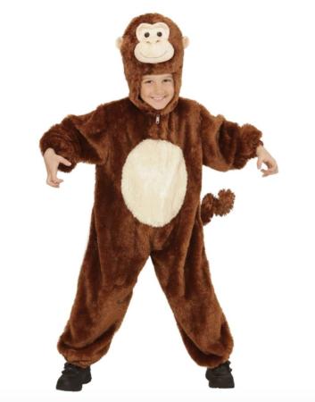 plys abe kostume til børn 353x450 - abe kostume til børn og baby