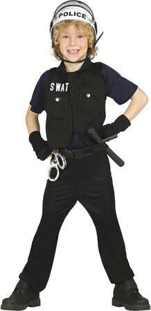 politibetjent kostume swat kostume swat udklædning politi uniform