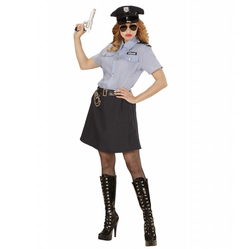 politimand kostume til voksne politibetjent kostume politiuniform kostume politibetjent udklædning fastelavn ordensmagten kostume dansk politiuniform kostume kvinder