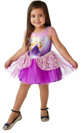rapunzel disney kjole til barn