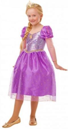 rapunzel kostume til piger eventyrligt kostume dosney kostume lilla kjole
