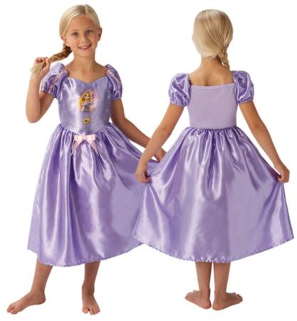 rapunzel kostume til piger lilla udklædningskjole til børn tangled kostume til piger