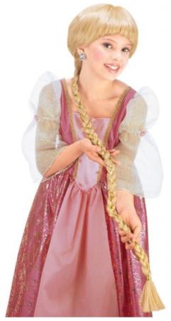 rapunzel paryk kostume til børn