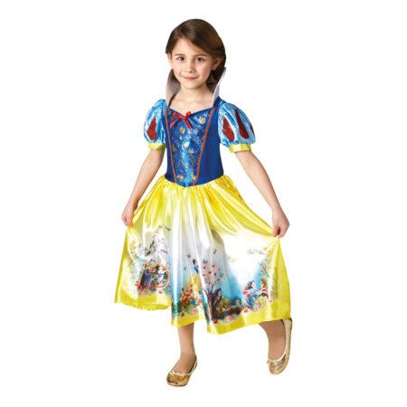 snehvide børnekjole 450x450 - Snehvide kostume til piger