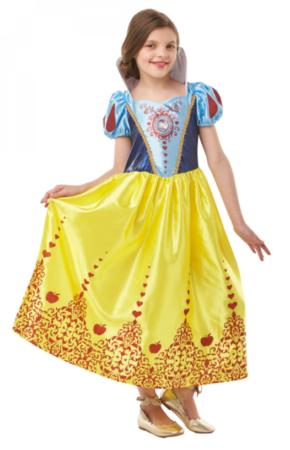 snehvide kjole barn tilbud fastelavn 2021