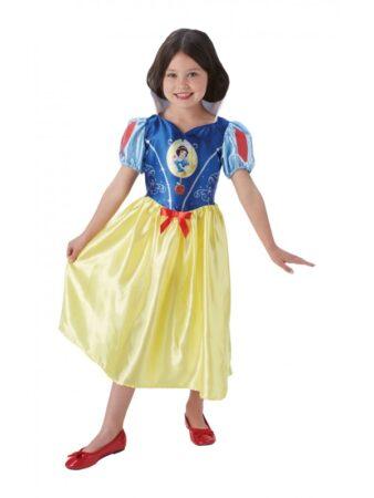 snehvide kostume til piger snehvide børnekostume disney kostume snehvide kjole