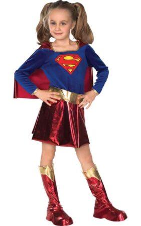 supergirl kostume til piger supermand pige kostume supermand kjole
