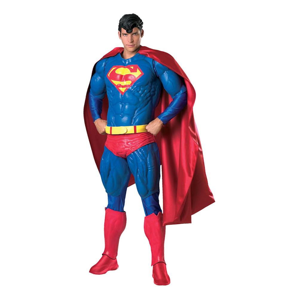 superman kostume til voksne - Superman kostume til voksne