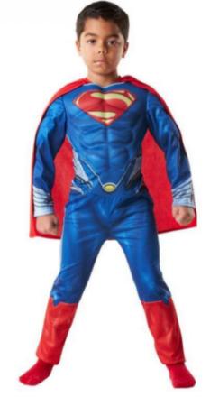 supermand kostume til 6 årig