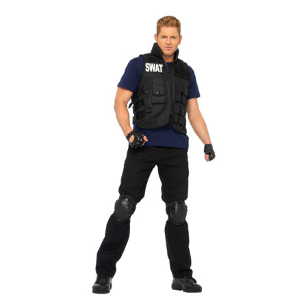 swat uniform kostum til voksne