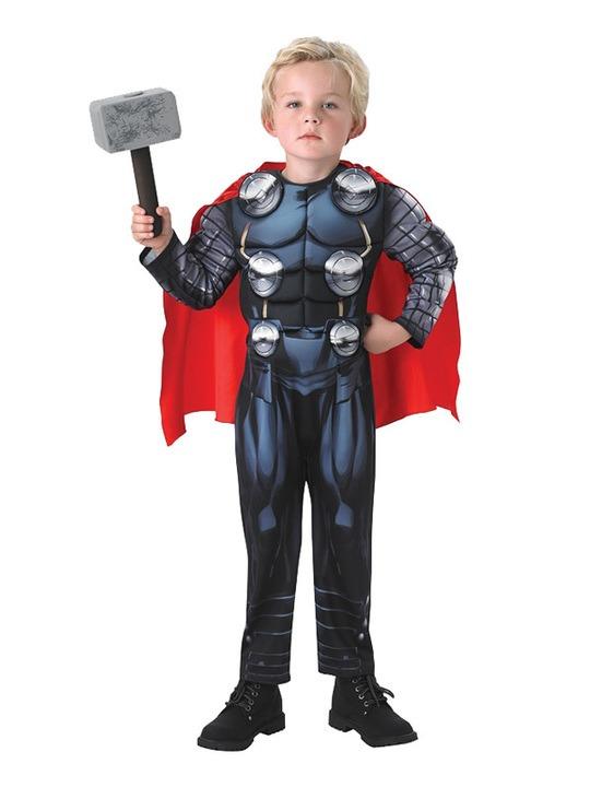 thor kostume til børn thor børnekostume nordisk mytologi kostume avengers thor kostume thor udklædning thor fastelavnskostume halloween luksus