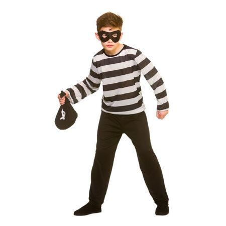 tyveknægt børnekostume tyv udklædning til børn