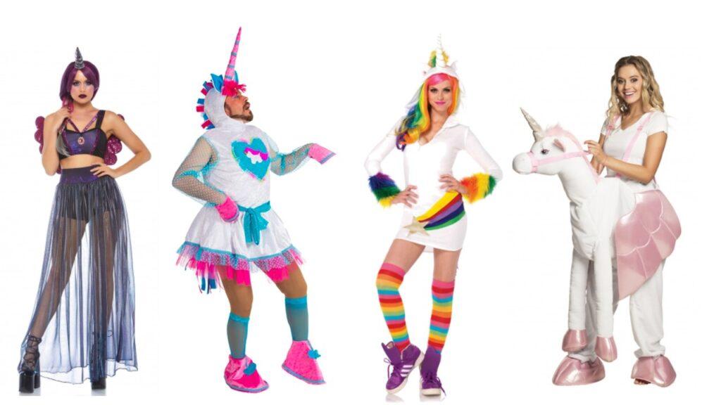 unicorn kostume festlig enhjørning udklædning til voksne fastelavnskostume til voksne