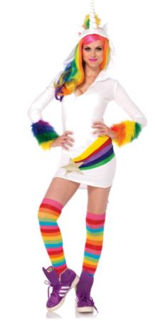 unicorn kostume sidste skoledag enhjørning udklædning