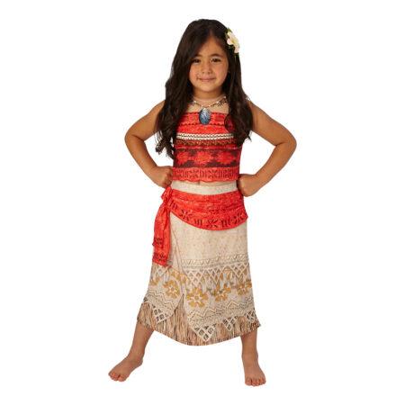 vaiana børnekostume disney vaiana kostume til piger vaiana udklædning vaiana kjole
