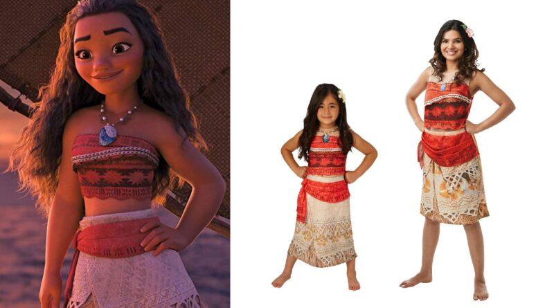 vaiana kostume moana kostume vaiana kjole vaiana udklædning vaiana kostume til piger vaiana kostume til voksne