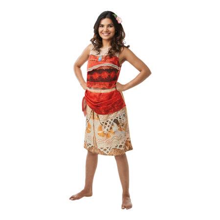 vaiana kostume til voksne moana kostume til voksne