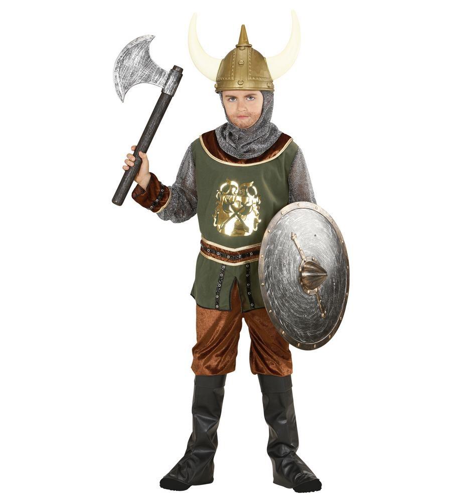 viking kostume til børn vikingekostume barn viking udklædning vikingekostume skjold ridder luksus kostume viking