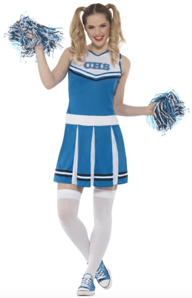 Skærmbillede 2018 02 01 kl. 10.44.59 661x1024 - Cheerleader kostume til voksne