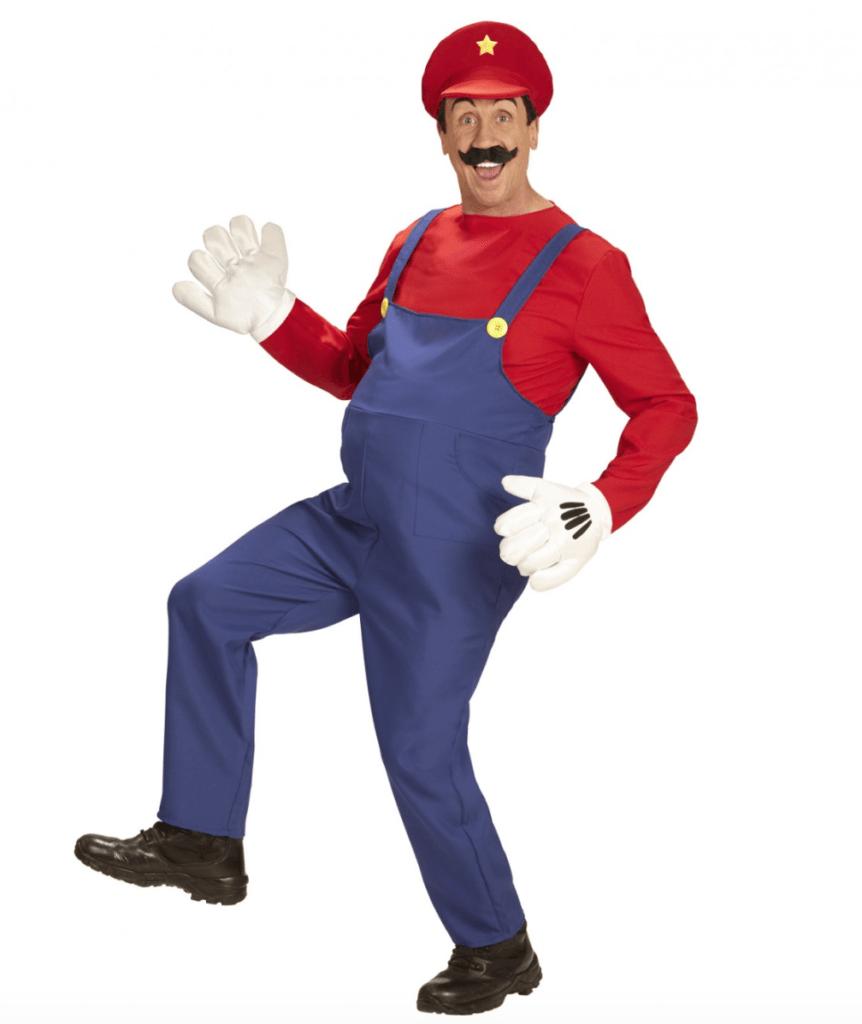 Skærmbillede 2018 02 07 kl. 21.53.59 862x1024 - Super Mario kostume til voksne