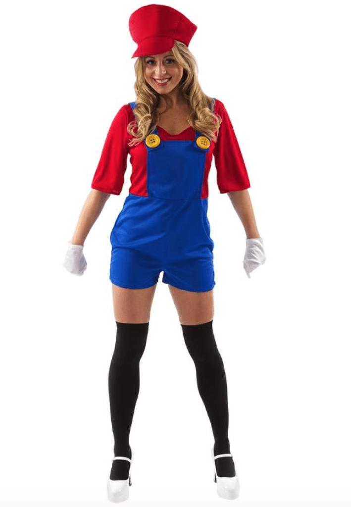 Skærmbillede 2018 02 07 kl. 21.59.19 709x1024 - Super Mario kostume til voksne