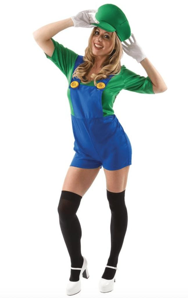 Skærmbillede 2018 02 07 kl. 22.03.17 647x1024 - Super Mario kostume til voksne