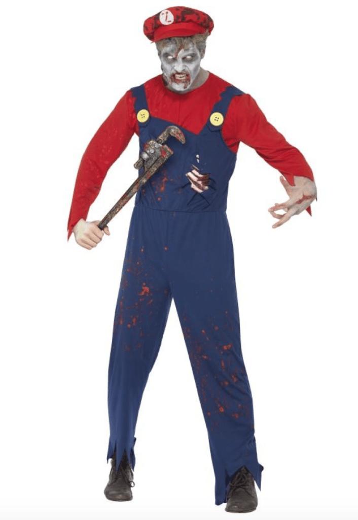 Skærmbillede 2018 02 07 kl. 22.06.14 706x1024 - Super Mario kostume til voksne