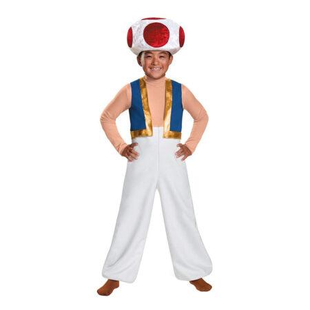 Toad kostume super mario kostumer 450x450 - Super Mario kostume til børn