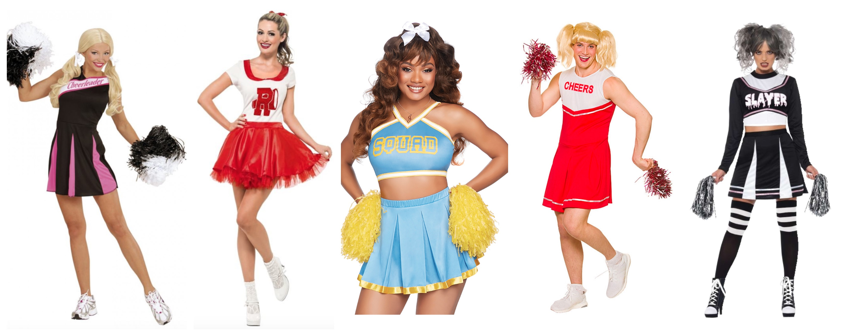 cheerleader kostume til voksne - Cheerleader kostume til voksne