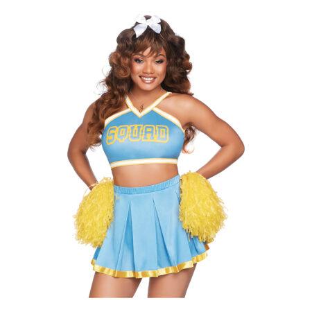 cheerleader voksenkostume 450x450 - Cheerleader kostume til voksne