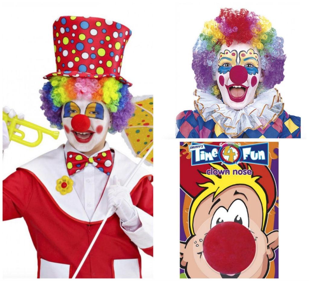 collage 3 1024x932 - Klovne kostume til børn