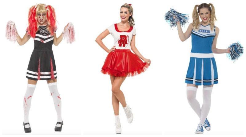cheerleader kostume til voksne, cheerleader udklædning til voksne, cheerleader tøj til voksne, cheerleader kjole til voksne, cheerleader voksen kostumer, cheerleader voksen udklædning, zombie cheerleader kostume, zombie cheerleader udklædning, halloween kostumer til voksne, fastelavnskostumer til voksne, kostume universet, grease kostume til voksne
