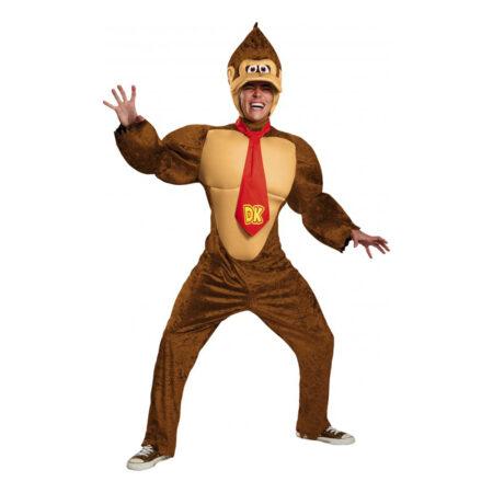 donkey kong kostume til voksne super mario skurk kostume til voksne abe kostume til voksne omputerspil kostume til voksne