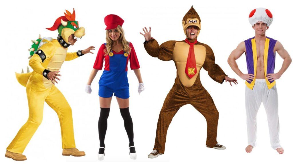 super mario kostume super mario udklædning donkey kong kostume toad kostume bowser udklædning 1024x576 - Super Mario kostume til voksne