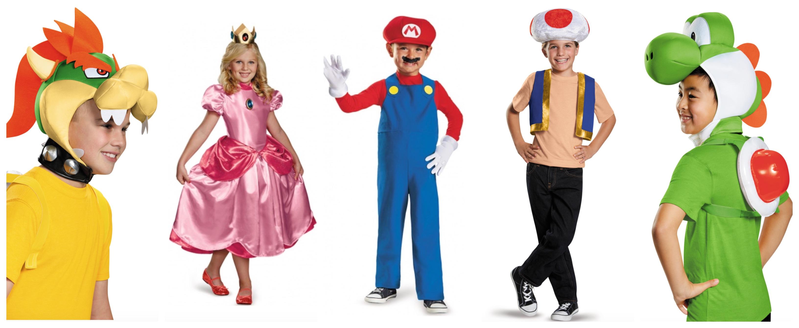 super mario kostume til børn - Super Mario kostume til børn