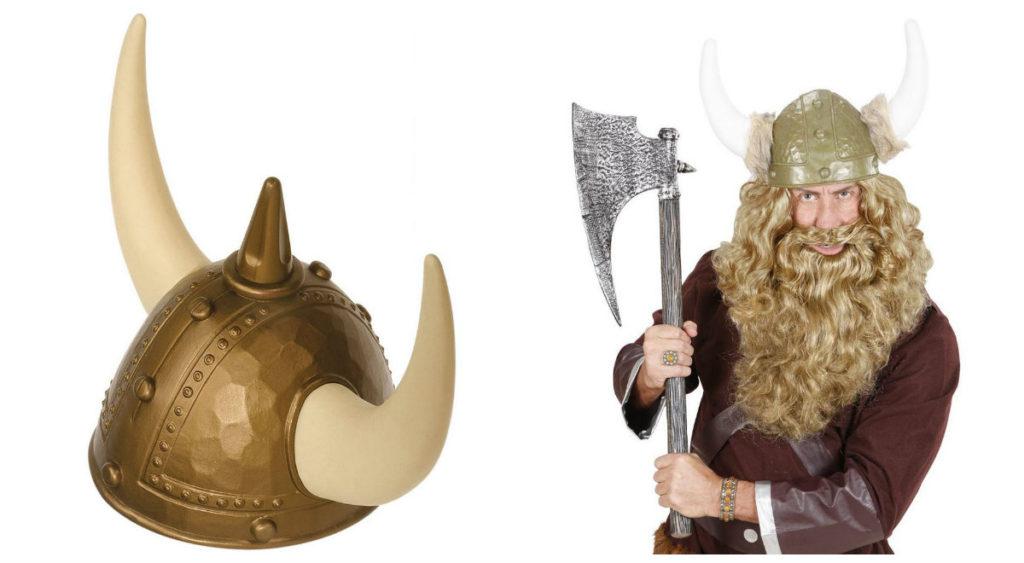 tilbehør til viking kostume til voksne