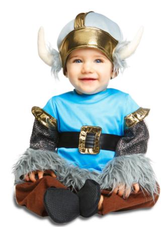 viking kostume til baby viking babykostume