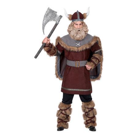 viking kostume til mand viking voksenkostume viking udklædning viking hjelm viking kappe