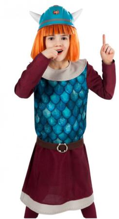 vikingen vicky kostume til pige viking vicky børnekostume vikingen vicky kostume til børn vikingen vicky udklædning