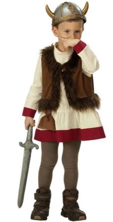 vikingesæt fastelavn vikingetiden udklædning