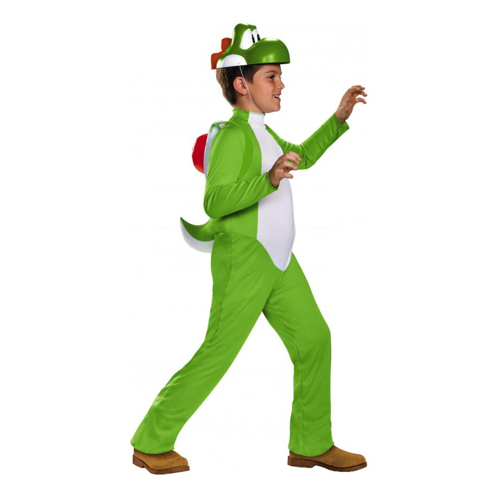 yoshi børnekostume - Super Mario kostume til børn