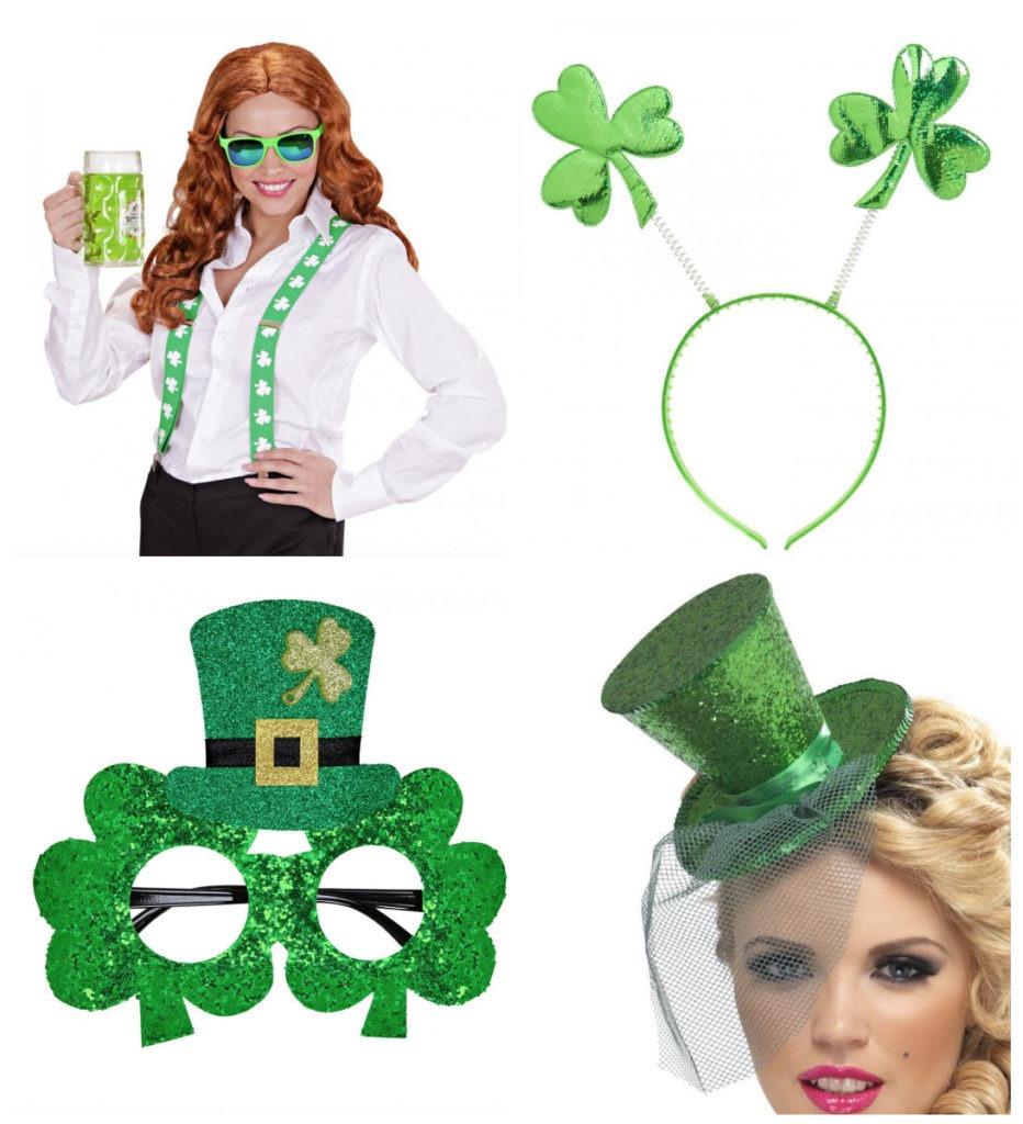 collage 2 932x1024 - Sankt Patricks kostume til kvinder