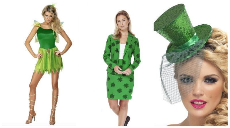 collage 3 800x445 - Sankt Patricks kostume til kvinder